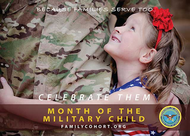 Picture of Military Child 2013