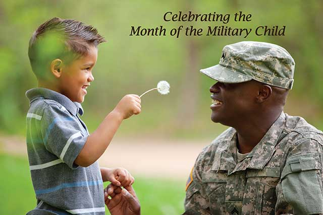 Picture of Military Child 2015